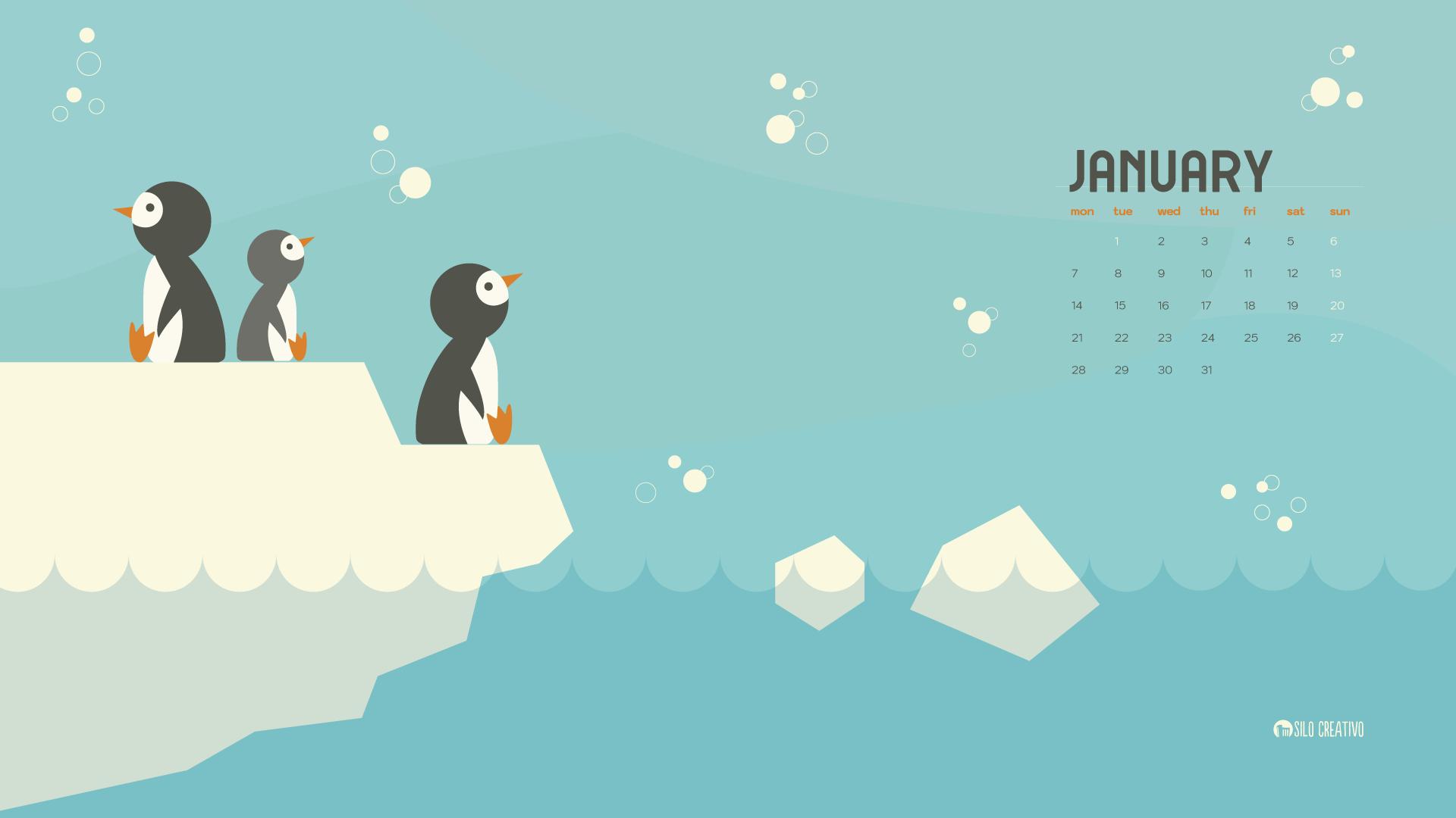 Downloadable Calendar: January 2020 • Silo Creativo