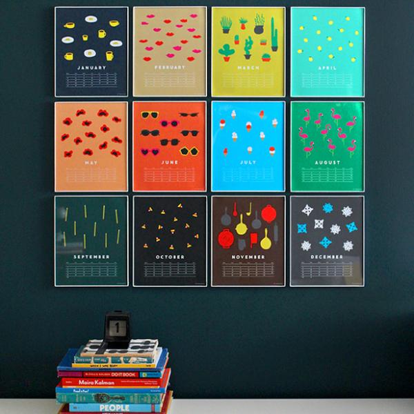 Calendarios con mucho dise o silo creativo - Disenos de calendarios ...