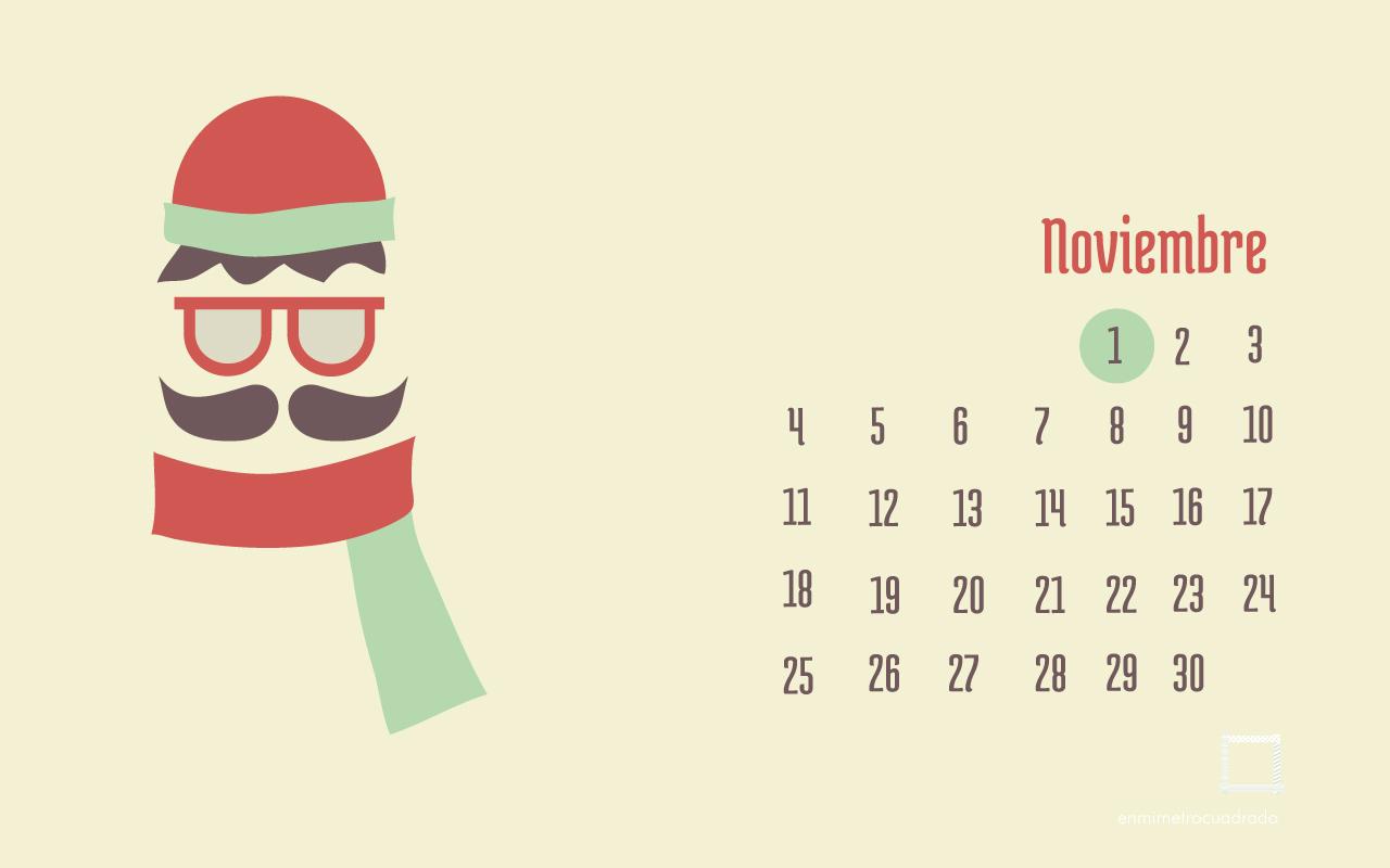Calendario Descargable: Noviembre 2013 • Silo Creativo
