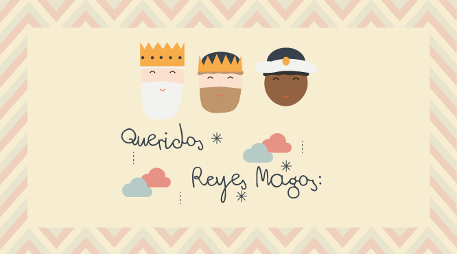 Resultado de imagen de carta reyes magos moderna