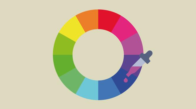 Cómo Combinar Colores Con El Circulo Cromático: Azul Y