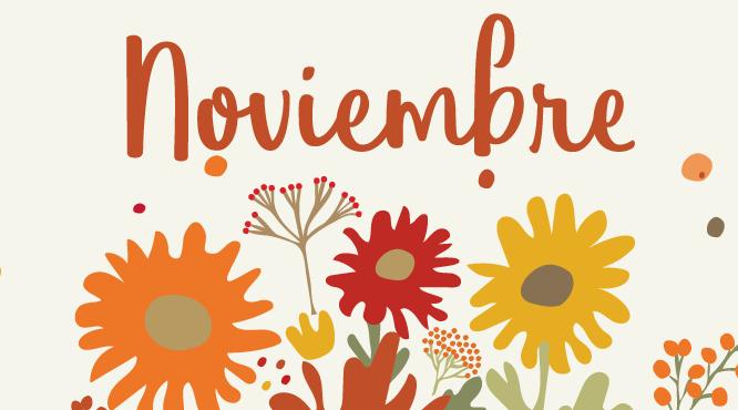 Calendario descargable noviembre 2017 silo creativo - Mes noviembre 2017 ...